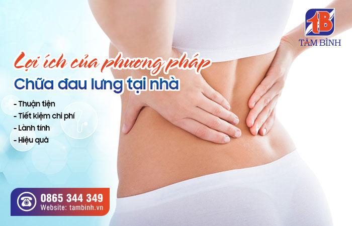 Lợi ích của phương pháp chữa đau lưng tại nhà