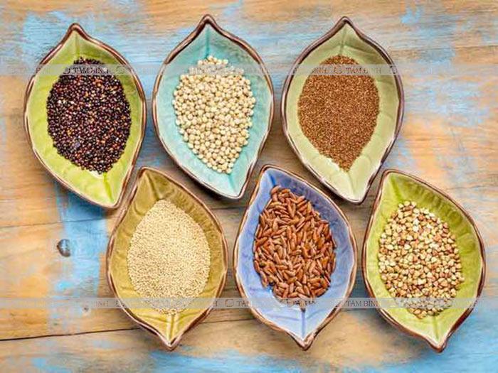 Đau lưng nên ăn ngũ cốc nguyên hạt