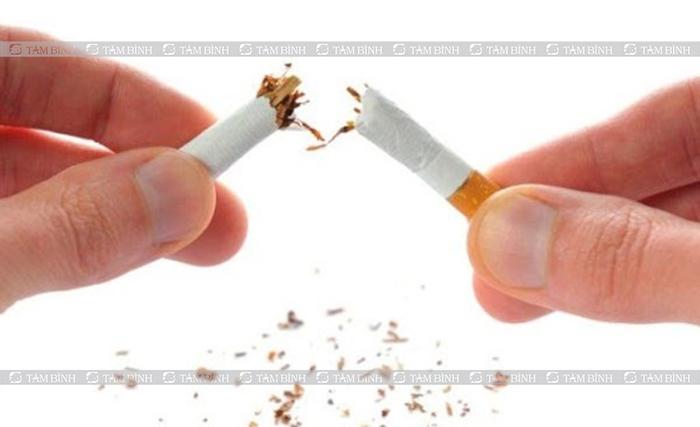 Người bệnh nên kiêng thuốc lá