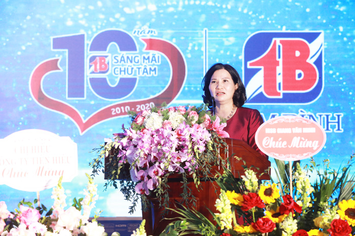 Tổng giám đốc phát biểu tại Chương trình kỷ niệm 10 năm thành lập Công ty
