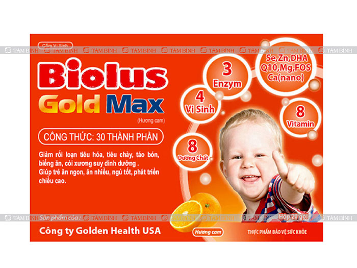 Cốm vi sinh Biolus Gold Max