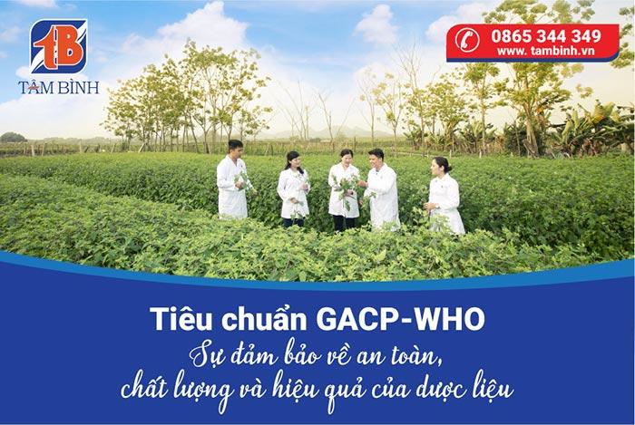 Tiêu chuẩn GACP-WHO