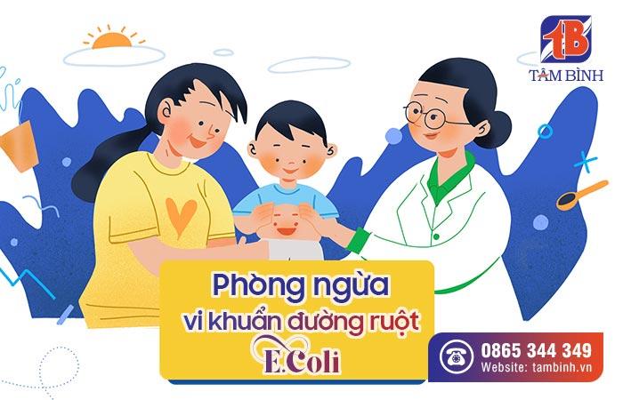phòng ngừa vi khuẩn đường ruột Ecoli