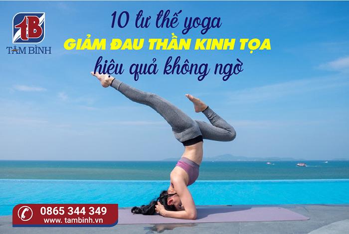 yoga giảm đau thần kinh tọa