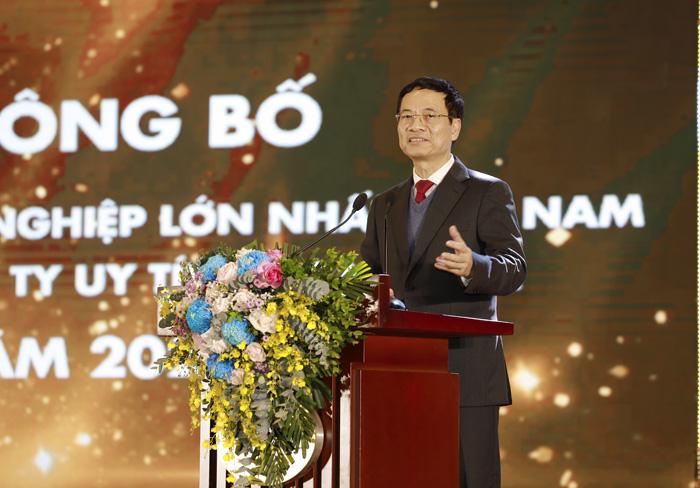 Bộ trưởng Bộ TTTT phát biểu tại Top 5 Công ty Đông dược Việt Nam uy tín 2020