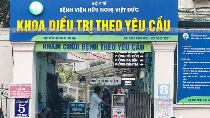 Bệnh viện Hữu nghị Việt Đức - Địa chỉ khám, chữa bệnh gout tại Hà Nội