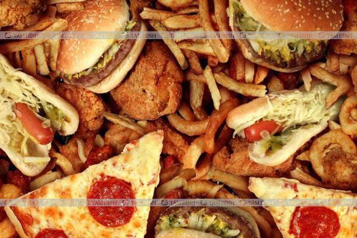 Yếu sinh lý nên kiêng đồ ăn nhiều chất béo