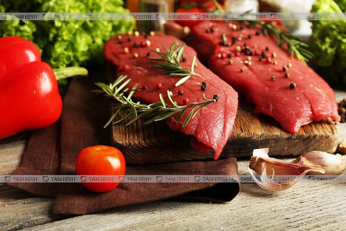 thịt đỏ kéo dài thời gian quan hệ