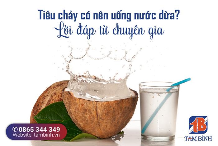Tiêu chảy có nên uống nước dừa