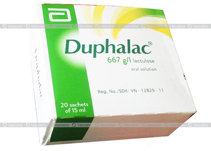 Thuốc nhuận tràng Duphalac