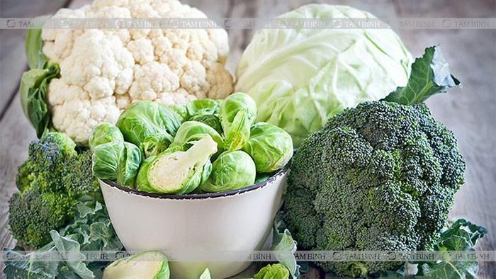 Người có đường ruột kém nên ăn rau họ cải