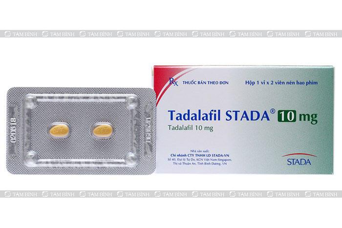 yếu sinh lý có chữa được không - dùng tadalafil