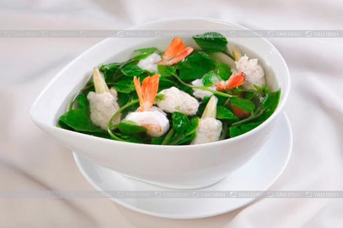 Món ăn từ rau giúp tăng cường sinh lực