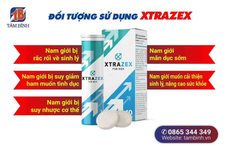 Đối tượng sử dụng Xtrazex