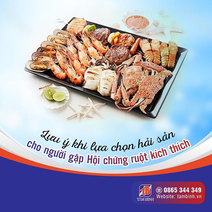 lưu ý khi lựa chọn hải sản khi bị hội chứng ruột kích thích
