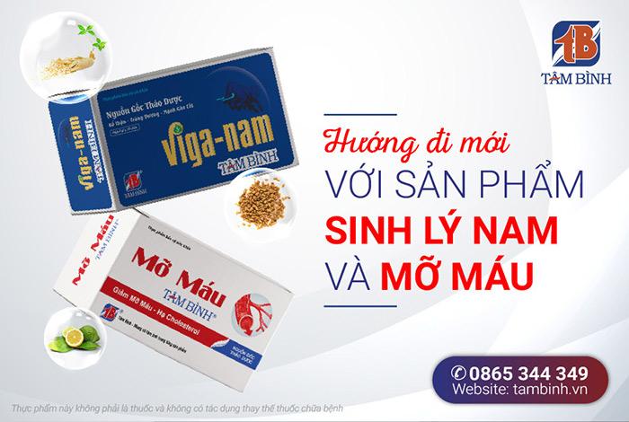Sản phẩm mới Viganam Tâm Bình, Mỡ máu Tâm Bình