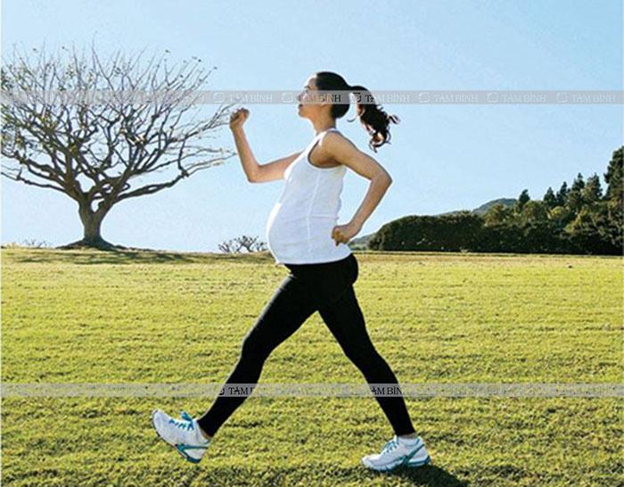 Rèn luyện thể lực giúp giảm hội chứng ruột kích thích cho mẹ bầu