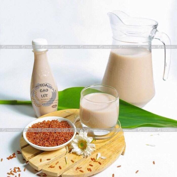 Sữa gạo lứt chữa gout