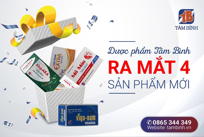 Dược phẩm Tâm Bình ra mắt sản phẩm mới