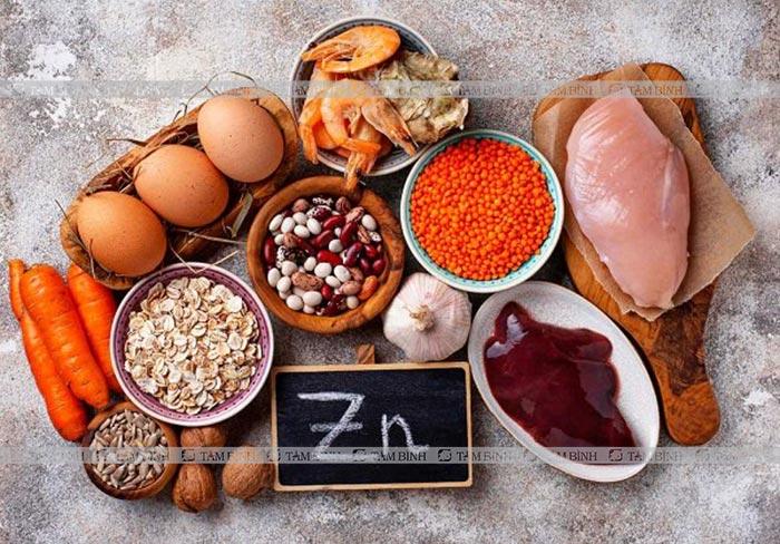 thực phẩm chứa nhiều kẽm làm tăng chất và lượng tinh trùng