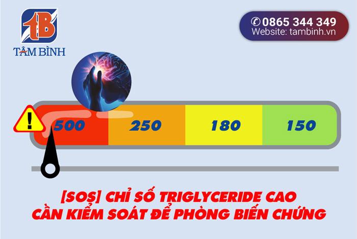 chỉ số triglyceride cao