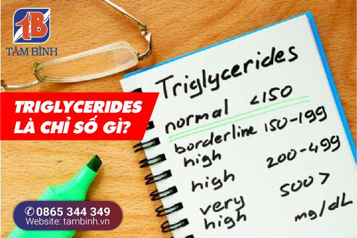Chỉ số triglycerides