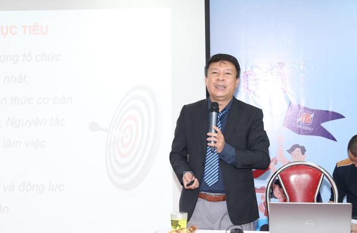 Chuyên gia Nguyễn Tuấn Anh giảng về kỹ năng mềm