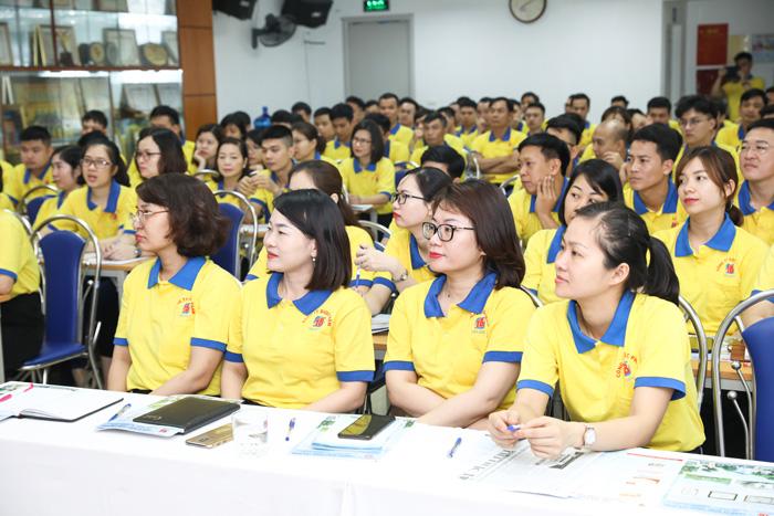 Nhân viên Công ty trong khóa đào tạo chuyên môn