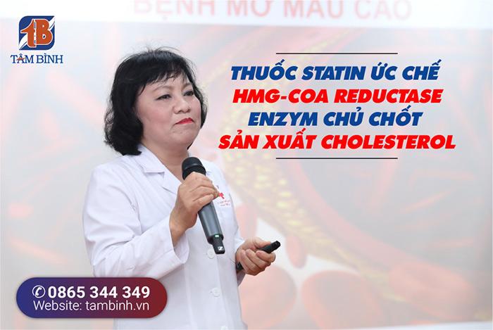 Ths.Bs. Nguyễn Thị Hằng nói về cơ chế tác động của thuốc statin