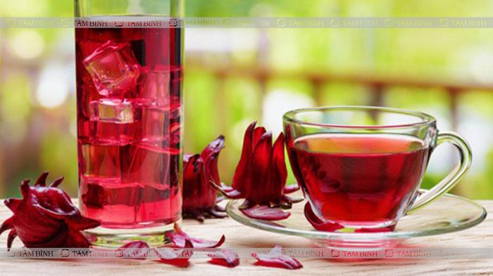 atiso đỏ là trà giúp hạ mỡ máu