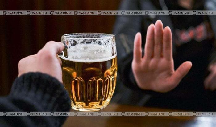 Tránh rượu bia