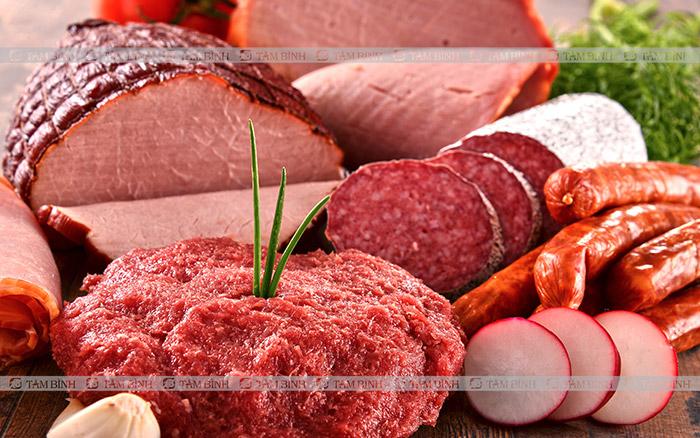 người bị gan nhiễm mỡ nên hạn chế thịt đỏ