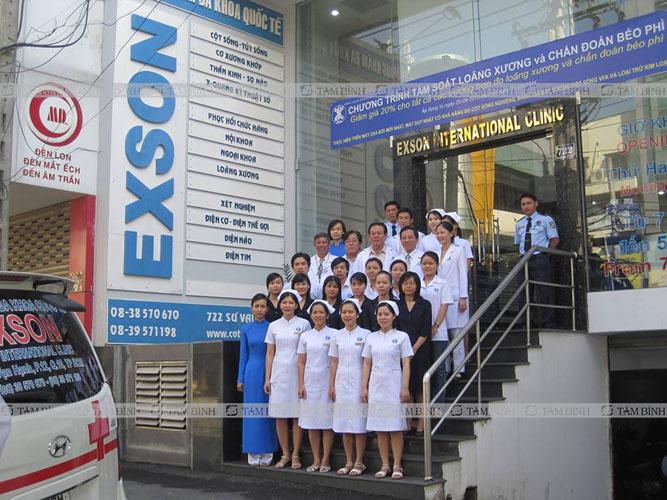 Phòng khám Exson - Địa chỉ khám gan nhiễm mỡ tại TP.Hồ Chí Minh
