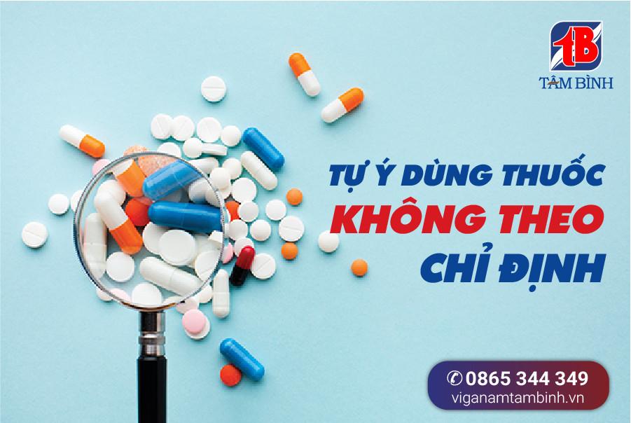 tự ý dùng thuốc để tăng cường sức khỏe sinh lý
