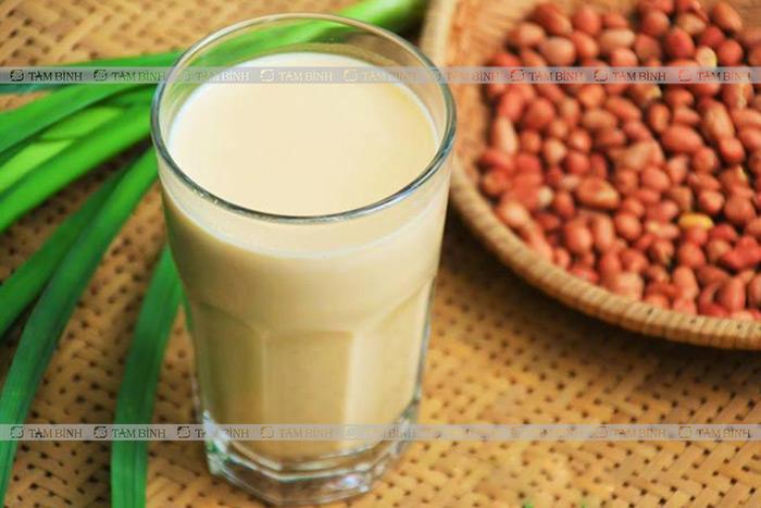 Sữa lạc tốt cho người bị mỡ máu