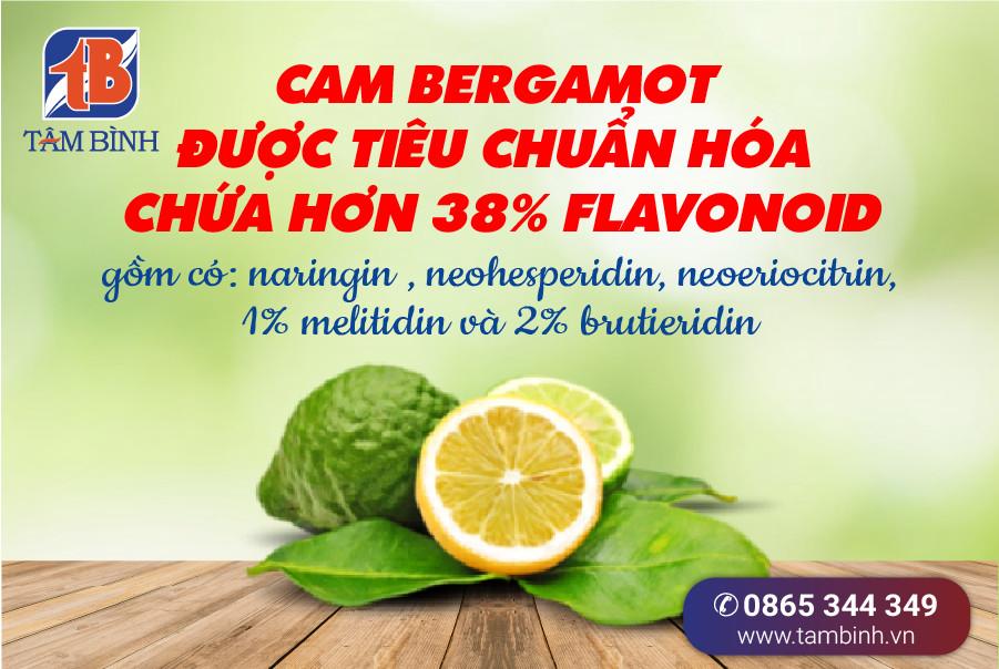 Cam Bergamot được chuẩn hóa 38 Flavonoid