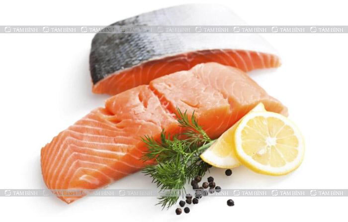 cá hồi giàu omega-3