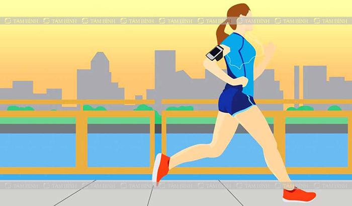 chạy bộ giúp giảm cholesterol