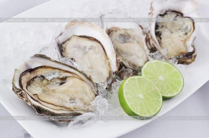 hàu biển cung cấp omega-3 làm giảm mỡ máu