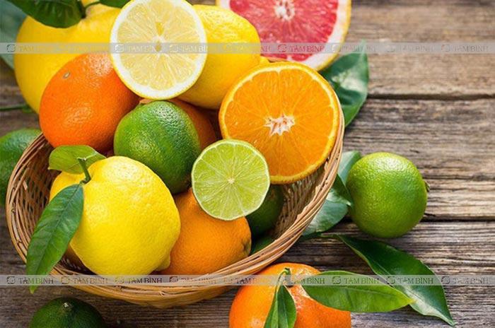 hoa quả có múi giúp giảm mỡ máu
