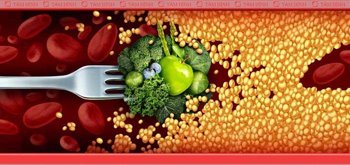 Lưu ý lựa chọn thực phẩm làm sạch mạch máu tự nhiên
