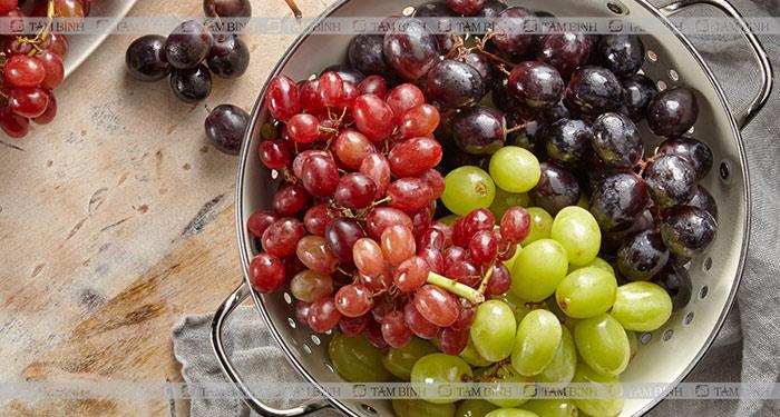 Nho - thực phẩm tăng cholesterol tốt