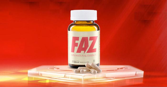 thực phẩm chức năng FAZ do ECogreen phân phối