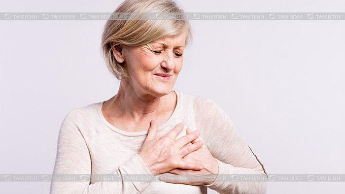 triệu chứng xơ vữa động mạch vành