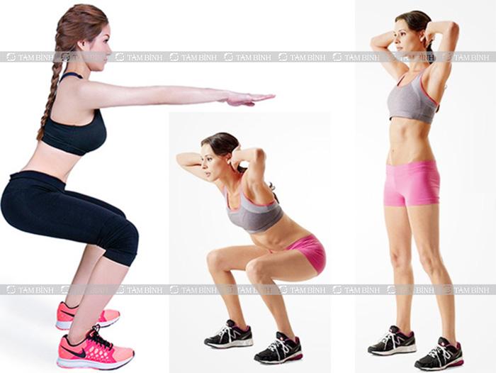 Bài tập squat hạ huyết áp hiệu quả