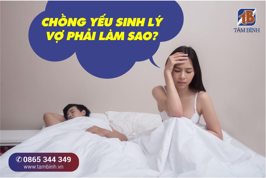 vợ cần làm gì để giúp chồng phục hồi sức khỏe tình dục