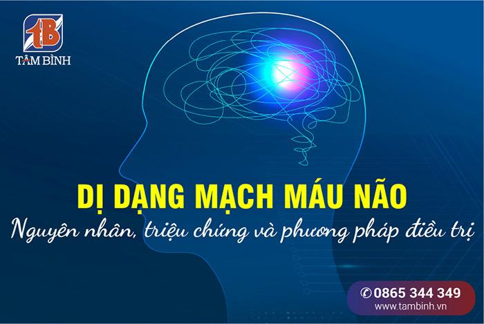 dị dạng mạch máu não
