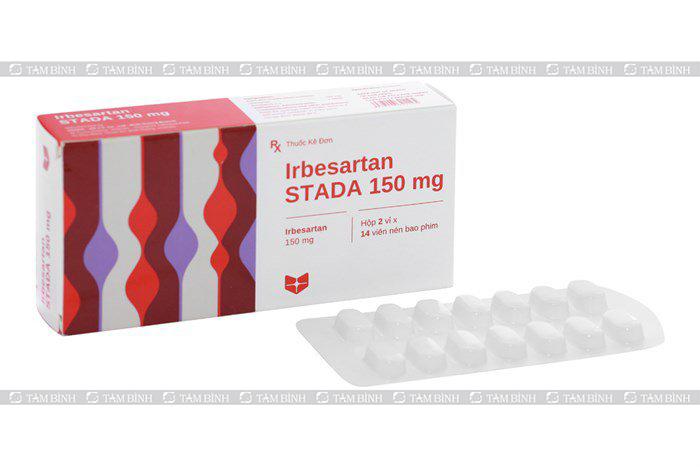 thuốc irbesartan trị huyết áp cao