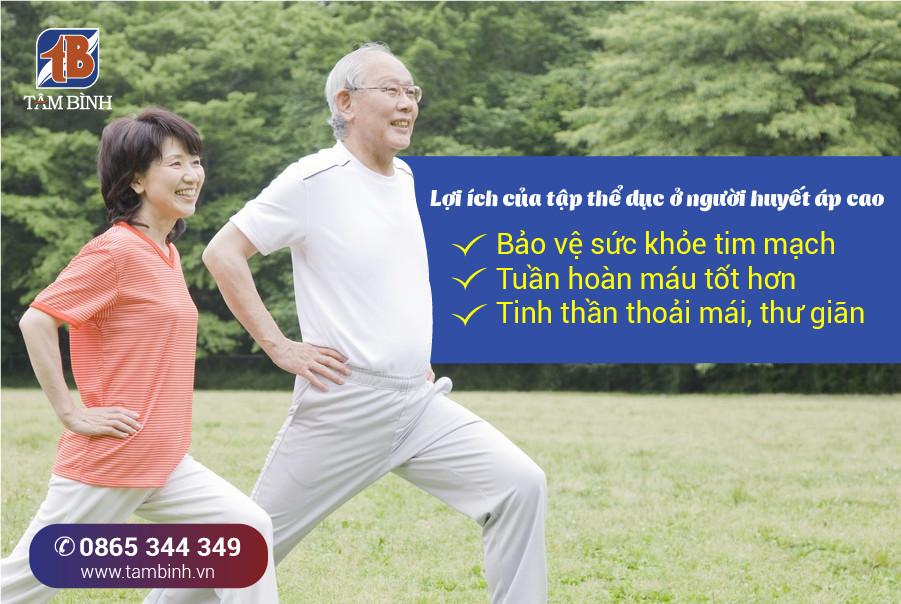Tập thể dục mang lại nhiều lợi ích cho sức khỏe