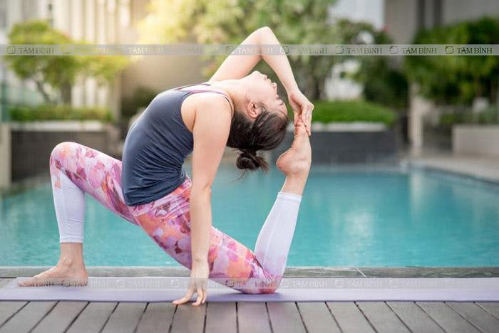 lưu ý giảm mỡ máu bằng yoga